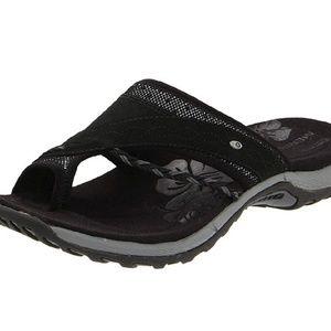 Merrell Black Slip On Hollyleaf Sandal 8